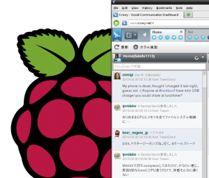 Crowy on Raspberry Pi