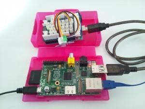 Raspberry Pi と Arduino を接続(GROVE - LED)