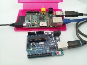 arduino IDE: Raspberry Pi + arduino