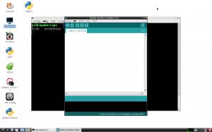 arduino IDE 起動